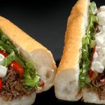 Black & Blue Cheesesteak